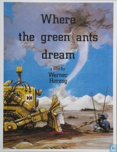 Where Green Ants Dream